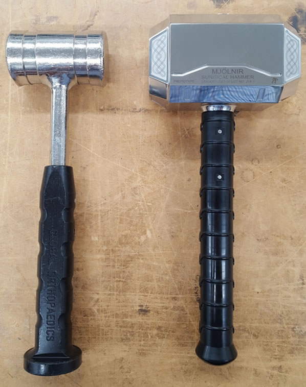 Thors Hammer In Real-Life Surgery